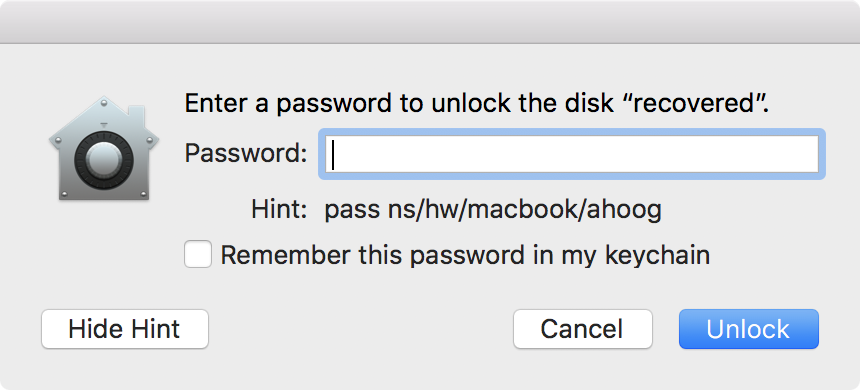 image macos-encrypted-drive-password-prompt-with-hint